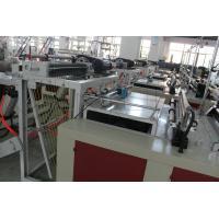 Professional Express Bag Making Machine , Plastic Pouch Making Equipment 700kg