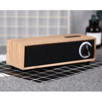 Buy cheap Rechargeable 5W 4 Ohm Wooden Bluetooth Speaker , Customized Passive Portable Speaker from wholesalers