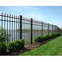 Buy cheap Unique steel door designs aluminum wrought iron gates fence and gates from wholesalers