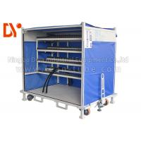 Buy cheap Anti Corrosion Mobile Tool Trolley , Lean Tube Connected Tool Trolley Cart from wholesalers