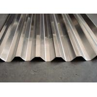 Buy cheap 3004 Corrugated Aluminium Roofing Sheets , Home Aluminum Metal Roof Panels from wholesalers