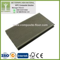 Buy cheap 145*24mm Wholesale GoodPriceSyntheticPlasticWood Decking Highly UV Resistant WPC Decking Floor from wholesalers