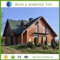 Buy cheap Professional design log cabins luxury wooden house prefabricated from wholesalers