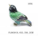 Buy cheap Animal Bird Trinket Box Animal Jewelry Box Blue Bird Metal trinket box from wholesalers