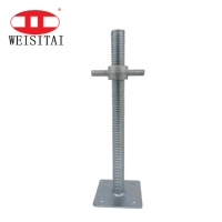 Buy cheap CMA  ISO Adjustable Ladder Scaffolding Jack Base from wholesalers
