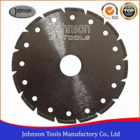 Buy cheap Segmented Type Angle Grinder Diamond Blade , Electroplated Diamond Blades Clear Color from wholesalers