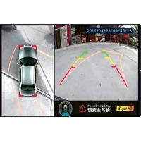 Buy cheap HD 2D 360 Bird View Car Camera With AHD 720P , Seamless Splicing Technology , Pass By The Narrow Road product