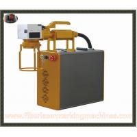 Handheld Laser Marking Machine , Portable Laser Marking Machine High Output