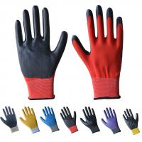 Buy cheap 13guage nitrile coated gloves product