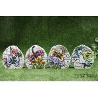 Buy cheap Customized Cement Garden Decor Flower And Bird Design , Stone Shaped from wholesalers