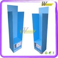 Buy cheap high quality cardboard corrugated material floor display stand for magazine retail from wholesalers