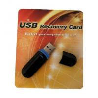Buy cheap USB Recovery Card Hdd Data Recovery Card laptop system recovery from wholesalers
