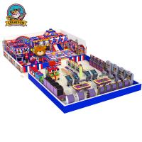 Buy cheap Kids play area indoor children playground equipment Naughty Castle from wholesalers