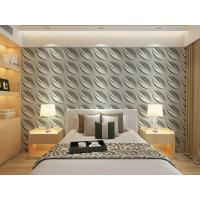 Buy cheap Contemporary Interior 3D Textured Wall Panels Home or Commercial Decoration Wallpaper from wholesalers