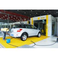 Buy cheap Yellow Tunnel Car Wash System Brushed With Pneumatic Control System from wholesalers