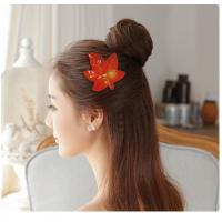 Buy cheap Hair Decoration Leather  Hair Bows For Infants / Babies / Little Girls from wholesalers