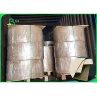 Buy cheap 300 - 400gsm Food Grade Kraft Paper High Bursting Resistance For Bags from wholesalers