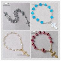Buy cheap rosary bracelet,  wrist rosary,  rosary bangle,  wrap rosary bracelet from wholesalers
