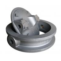 Buy cheap Flanged Butterfly Valve Body Casting Double Sand Casting Iron QT450-10 from wholesalers