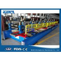 Buy cheap 18 Rows Garage Door Metal Roll Forming Machines 8M - 12M / Min Production Capacity product