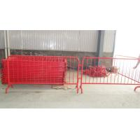 Buy cheap Full range options of Crowd Control Barriers Made In China ,High Quality 42 microns zinc from wholesalers