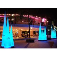 Buy cheap Blue Red Led Light Inflatable Cone Oxford Cloth For Outdoor Traffic from wholesalers
