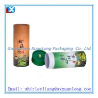 Buy cheap Nice print paper tube box for tea from wholesalers