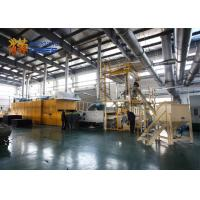 Buy cheap Heavy Duty Thermal Bonding Machine , Sound Insulation Non Woven Fabric Production Line from wholesalers