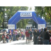 Buy cheap Hot sell  Inflatable finish line arch made by PVC Tarpaulin   GTAR-1609 from wholesalers