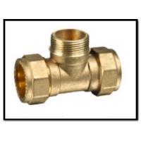 China Brass Male Tee for Copper Pipe on sale