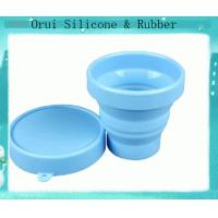 Buy cheap Portable eco-friendly food grade silicone rubber drink cups from wholesalers
