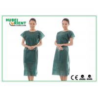 Buy cheap Nonwoven Hospital Isolation Gowns / PP Nursing Hospital Gown For Women , CE Standard from wholesalers