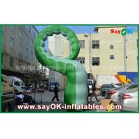 China Green Oxford Cloth Inflatable Cartoon Characters /  Inflatable Caterpillar on sale