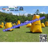 Buy cheap Game Inflatable Paintball Bunker , Paintball Inflatable Bunkers from wholesalers