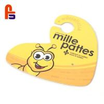 Buy cheap Yellow Cute Bee Custom Cardboard Hangers Matt Lamination For Coat Suit Clothing from wholesalers