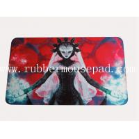 Buy cheap Hot Card Game Rubber Play Mat , Square Sexy Anime Mouse Pad from wholesalers