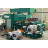 Casting Aluminium Rolling Mill , Cold / Hot Four High Rolling Mill Machine