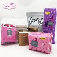 Buy cheap Different Types Of Ultra Sanitary Napkin OEM Private Label Manufacturing Sanitary Pads Plastic Bag Pouch Tin Box Packagi from wholesalers