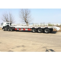 Buy cheap Heavy Load Hydraulic Ladder 80 Ton Low Bed Semi Trailer from wholesalers