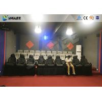 Buy cheap Amusement Park 7D Cinema System With Dynamic Motion Base / 7D Simulator Cinema from wholesalers