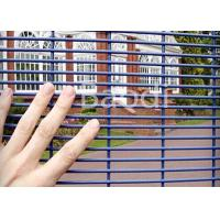 Buy cheap Mild Steel Welded Anti Climb Mesh Fence Metal Square Post For Factory Machine Guards from wholesalers