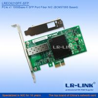 Buy cheap LREC6210PF-LX  PCI Express PCIe x1 Single Port 1000M SM Network Interface NIC (Broadcom 5708S Based) from wholesalers