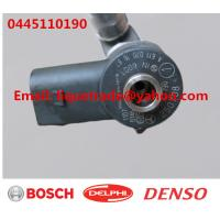 Buy cheap BOSCH Original Common Rail Injector 0445110190 0445110189 for Mercedes Benz A6110701487 A6110701687 from wholesalers