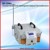 Buy cheap Diamond dermabrasion microdermabrasion portable 4 in 1 Crystal diamond hydro peel jet peel microdermabrasion from wholesalers