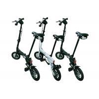 "12"" Fashion 2 Wheels Lightweight Folding Bike Easy Assembling For Road Traveling"
