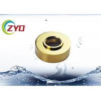 China Golden Bathtub Faucet Cover Plate , Height Adjustable Tub Spout Cover Plate on sale