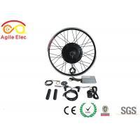 36V / 48V 500W Brushless Gearless Hub Motor Kit For Electric Bikes