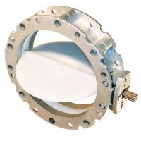 Buy cheap Electric Actuated double Flanged Butterfly Valve from wholesalers