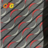 Buy cheap Polyester Auto Upholstery Fabric Screen Printing / Paper Printing for Car Seat Cover product