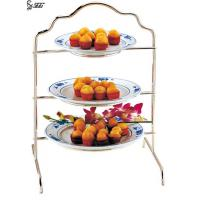 Buy cheap Three Tiered Rectangle Dessert Display Stands For Cafe , Small Cupcakes Display Stand from wholesalers